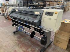 HP DesignJet L25500 DreamColor wide format printer product no. CH956A/CH956-64001