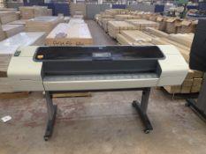 HP DesignJet T1100 wide format printer model no./factory no. Q6687A