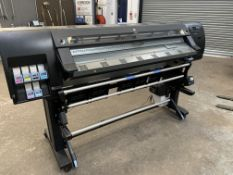 HP DesignJet L26500 wide format printer, for use with HP latex inks, factory code CQ869-64001.