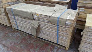 16 off ash foil FD30 fire doors, 1981 x 610 x 44, product code 298245, manufactured by Penrith Door
