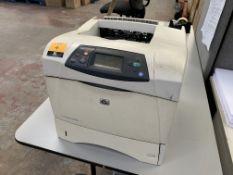 HP LaserJet 4250 DTN printer