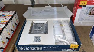 Videx 4000 Series 2 way audiokit door entry system