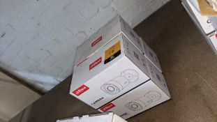 4 off Alhua HDCVI cameras model DH-HAC-HFW1200RMP