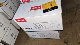2 off Alhua HDCVI cameras model DH-HAC-HFW1200RMP