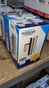 3 off Philips GU10 2 x 400LM halogen fittings