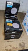 9 off Robus Twilight 2W IP65 circular LED wall mounted lights 3000K