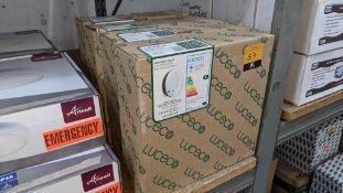 4 off Luceco LED emergency mosi bulkhead 290mm lighting units