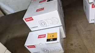 3 off Alhua HDCVI cameras model DH-HAC-HFW1200RMP