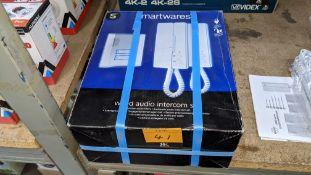 Smartwares wired audio intercom system