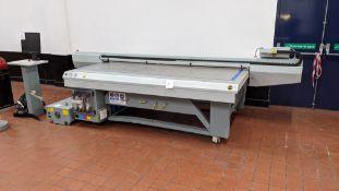 2008 Océ Arizona model GT250 UV flat bed printer