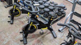 BodyMax model B150 indoor exercise bike.