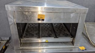 Fast food warming pass