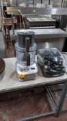 Sage food processor including case of blades & other ancillaries