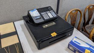 Casio electronic cash register model SE-510
