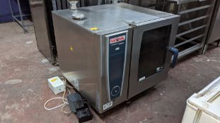 Rational Self-Cooking Centre 5 Senses White Efficiency 6 grid combination oven - model SCCWE61