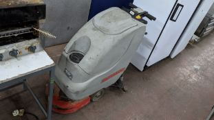 Comac electric floor scrubbing machine