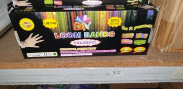 60 boxes of Loom Bands (one carton)