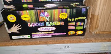 56 boxes of Loom Bands (one carton)