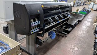 HP DesignJet Z6200 large format photo printer, factory no. CQ111-64001
