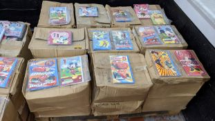 Large quantity of primarily Disney, Marvel/Avengers & other branded greetings cards. All of the car
