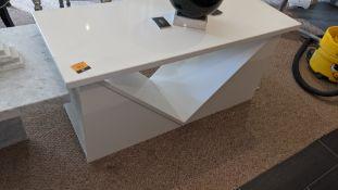 Granite table with max. dimensions circa 1145 x 490mm