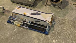MacAllister 600mm tile cutter