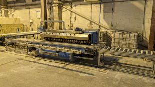 2005 Marmo Meccanica model LCH711M/SE 7-head edge polisher, serial no. 6880. This lot includes the 2