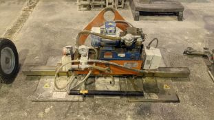 2001 Elephant model GM3R vacuum lifter for use with overhead cranes & similar. NB. This lot cannot b