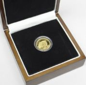 WILLIAM & CATHERINE TRISTAN DA CUNHA ROYAL WEDDING 24CT GOLD DOUBLE CROWN COIN, limited edition