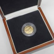 THE KING GEORGE VI PROOF QUALITY GOLD HALF SOVEREIGN OF 1937 part of an incredibly small mintage