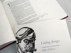 SIR KYFFIN WILLIAMS RA signed fully in pencil, limited edition (23/275) Gregynog Press 2002 volume