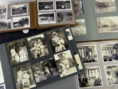 SEVEN PHOTOGRAPH ALBUMS RELATING TO THE VIVIAN FAMILY OF SWANSEA with many annotations and dates,