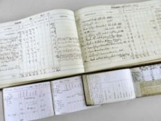 A VICTORIAN GAME SHOOTING LEDGER FOR H H VIVIAN for recording shots at shooting-parties from various