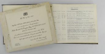 TYPED WORLD WAR I DIARY & ITEMS OF 3RD BARON OF SWANSEA ODO VIVIAN (1875 - 1934) the comprehensive