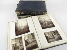 THREE FASCINATING LATE-VICTORIAN PHOTO ALBUMS RELATING TO THE VIVIAN FAMILY well-documented with