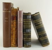 FIVE WELSH TOPOGRAPHICAL ANTIQUARIAN BOOKS comprising two volumes of 'Cymru: Yn Hanesyddol,