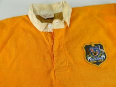 1969 AUSTRALIA RUGBY UNION INTERNATIONAL JERSEY from their Test with Wales on June 21st which