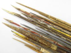 COLLECTION OF HIGHLANDS BAMBOO ARROWS, Papua New Guinea (19)