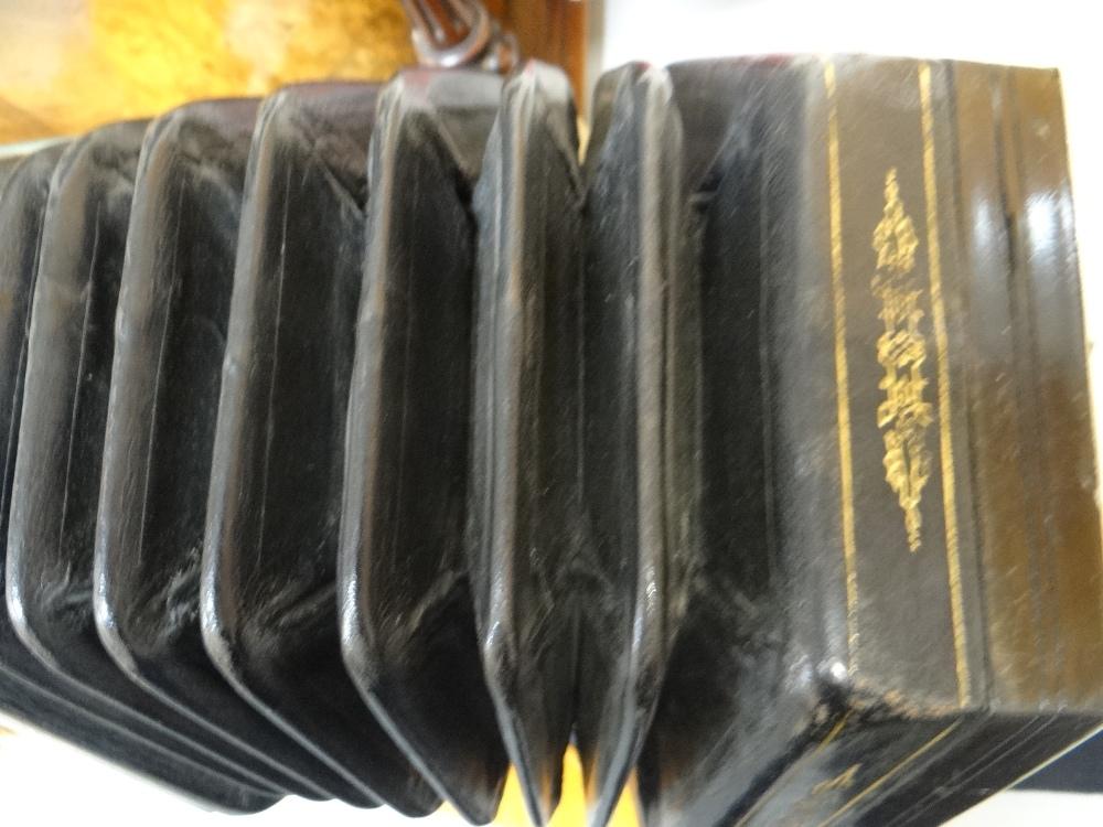 Lot 61 - JEFFRIES BROS. ENGLISH 55-KEY 'CRANE-SYSTEM' CONCERTINA ACCORDION, 1908-1923, with seven black
