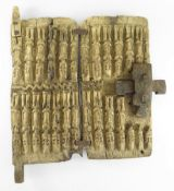 DOGON GRANARY DOOR, Mali, 53 x 45cms