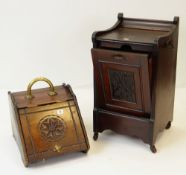 TWO LATE VICTORIAN MAHOGANY PURDONIUMS (2)