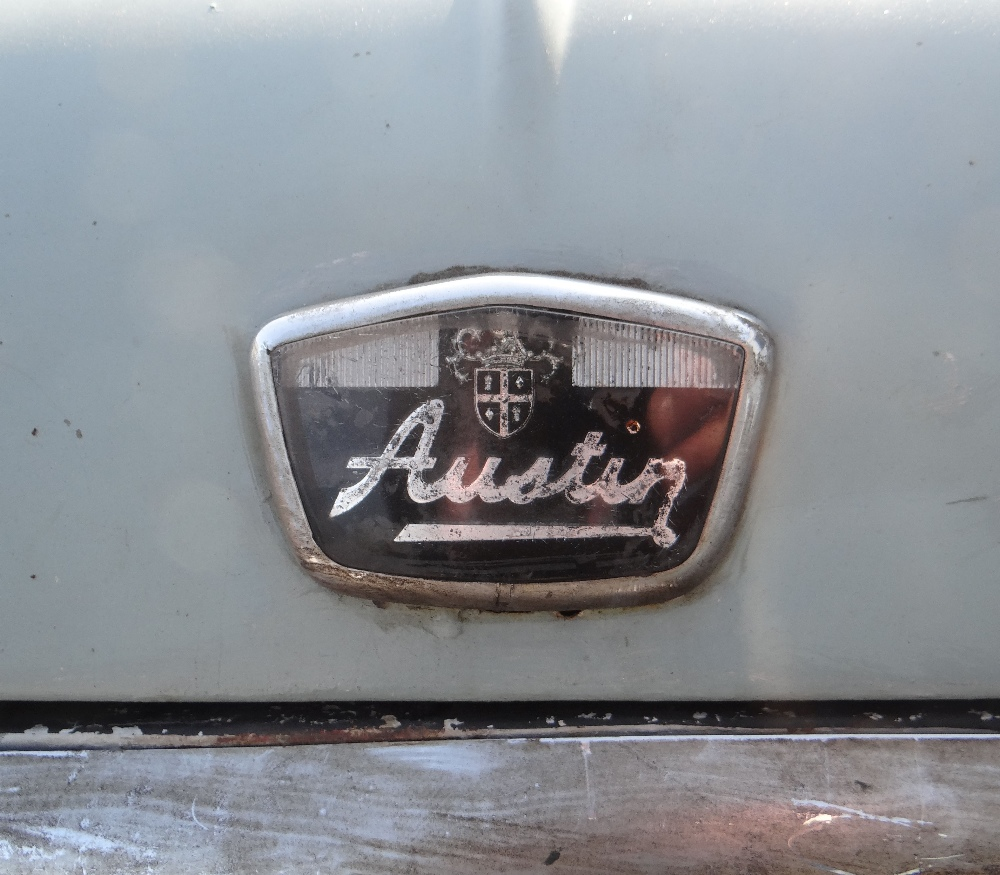 1963 AUSTIN MARK 1 MINI PETROL 848CC HAVING DATELESS/CHERISHED NUMBER PLATE '244 JG', in grey with - Image 4 of 79