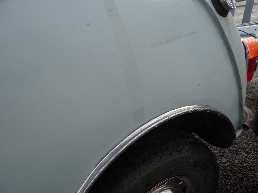 1963 AUSTIN MARK 1 MINI PETROL 848CC HAVING DATELESS/CHERISHED NUMBER PLATE '244 JG', in grey with - Image 28 of 79