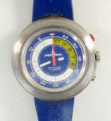 VINTAGE MEMOSAIL REGATTA COUNTDOWN CHRONOGRAPH GENT'S WRISTWATCH, circa 1970's in Longines box