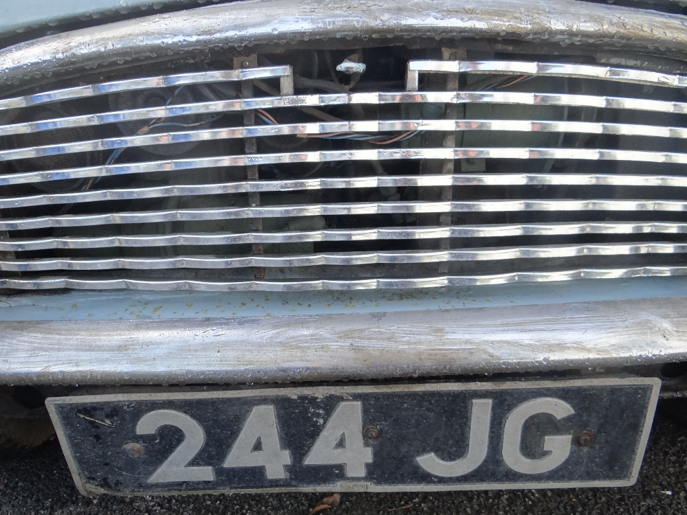 1963 AUSTIN MARK 1 MINI PETROL 848CC HAVING DATELESS/CHERISHED NUMBER PLATE '244 JG', in grey with - Image 22 of 79