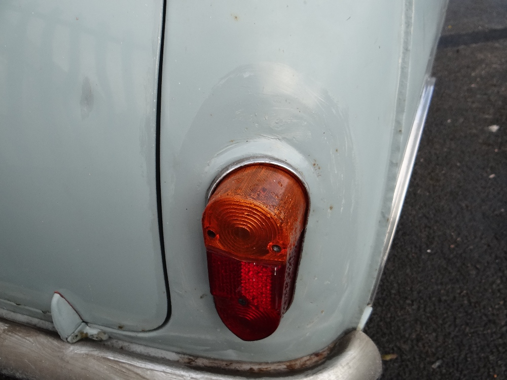 1963 AUSTIN MARK 1 MINI PETROL 848CC HAVING DATELESS/CHERISHED NUMBER PLATE '244 JG', in grey with - Image 57 of 79