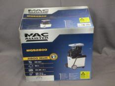 MAC ALLISTER MQS2800 AS NEW QUIET SHREDDER (BOXED)