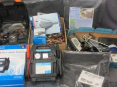 GARAGE/GARDEN TOOLS and associated items (within 2 boxes) ETC E/T