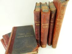 A COLLECTION OF INTERESTING LEDGERS RELATING TO TWO SOUTH WALES COLLIERIES comprising Bargoed Coal