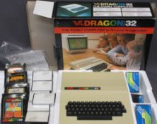 DRAGON DATA LTD 32 HOME COMPUTER in box with software